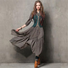 Vintage Autumn Dress...