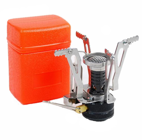 Mini Camping Folding Outdoor Gas Stove Portable Furnace Cooking Picnic Split Cooker