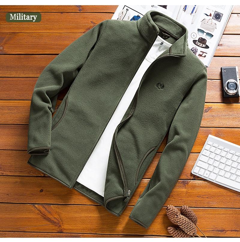 Man Fleece Tactical Softshell Jacket outwear Windbreaker Thermal Sporting male Tourism Mountain coats men Army jackets