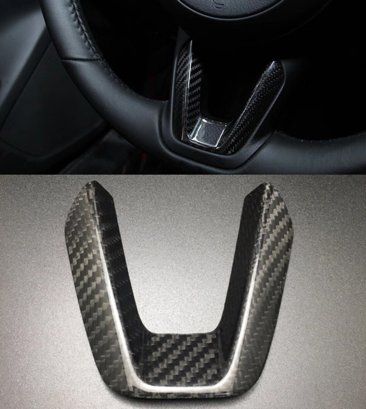 New Carbon Fiber Steering Wheel Interior Accessories For