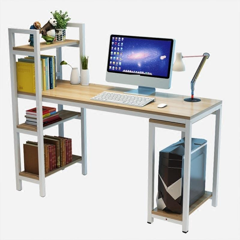desktop computer table Simple and economical home space bedroom modern desk combination computer desktop simple modern economical office student learning desk