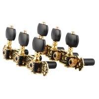 אליס אקוסטית גיטרה קלאסית AOS-020HV3P זהב/שחור מצופה מחרוזת כוונון מפתחות יתדות טיונר Machine Head