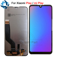 100% Tested 5.84For xiaomi Play lcd display touch screen digitizer Assembly for xiaomi Miplay replacement mi play LCD digitizer