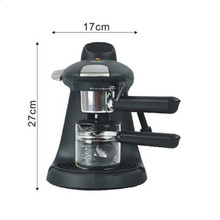High-quality Automatic 5 Cups Espresso Electric Coffee Maker White Drip Coffee Machine With Water Window
