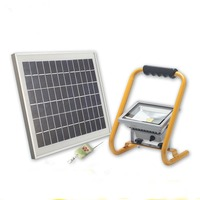 Solar battery charging project light lamp on board portable rechargeable lights portable remote 10 w