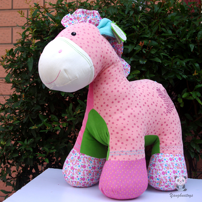 Stuffed Toys For Children Cloth Horse Doll Big Toy Girl Birthday Gift Large Dolls bookfong 1pc 35cm simulation horse plush toy stuffed animal horse doll prop toys great gift for children