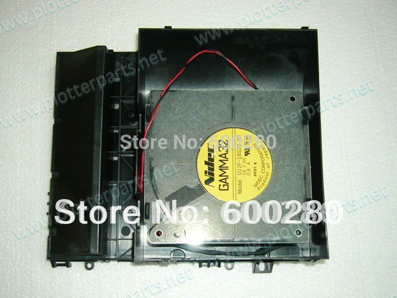 Q1273-60226 Q1273-60047 Aerosol fan assembly for HP Designjet 4000 4500 4020 4520 Z6100 plotter parts