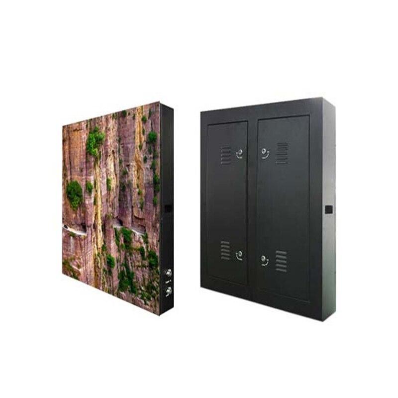 96*96 pixels 960*960mm étanche armoire RGB SMD polychrome P10 LED écran d'affichage étanche extérieur grand écran