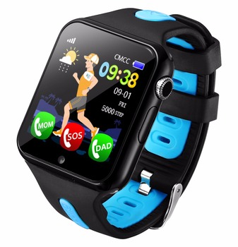 2018 NEW Tracking GPS Watch for Kids Call for Children's Smart watch with Camera SOS Location Device Tracker baby Safe Anti-lost