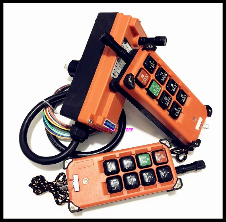 Image 2 - F21 E1B Industrial Radio Remote Control Hoist Crane Control Lift Crane 2x Transmitter + 1x Receiver Brand New-in Switches from Lights & Lighting
