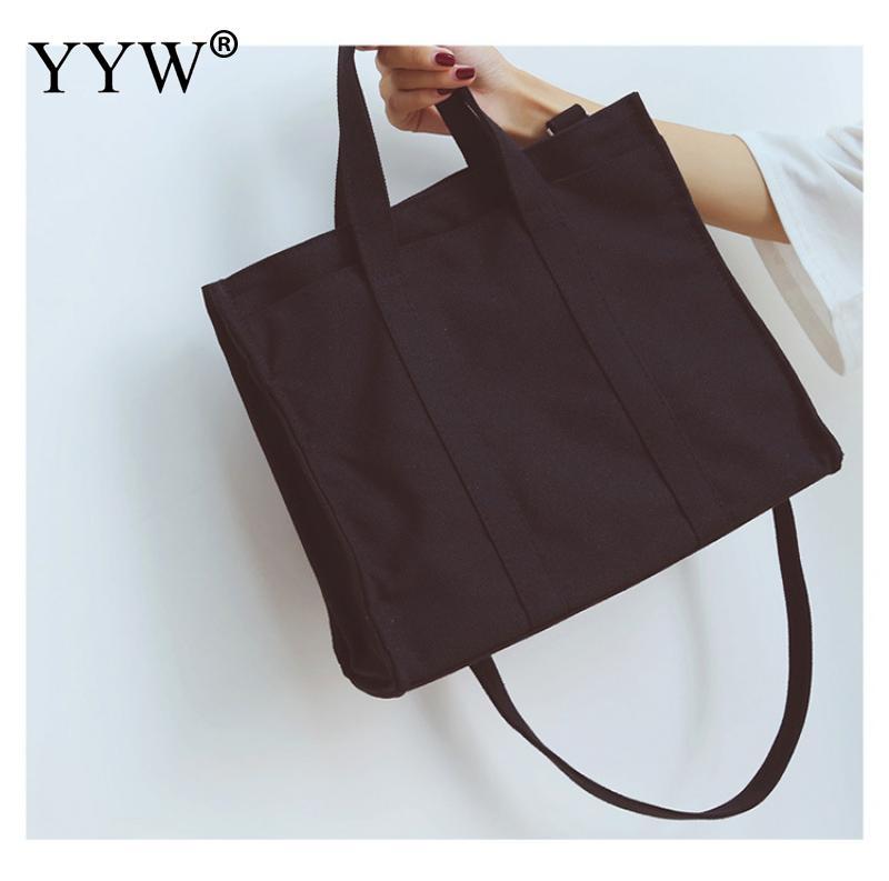 white Solid Corduroy Shoulder Bags Environmental Shopping Bag Tote Package Crossbody Bags Purses Casual Handbag For Women