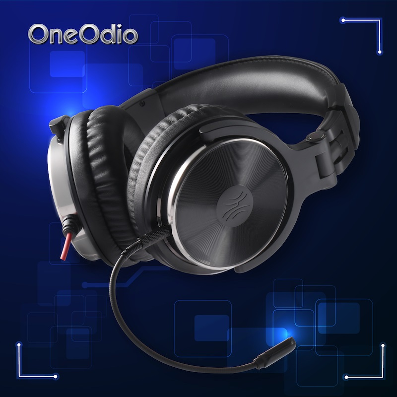 Oneodio Wired Gaming Headset PS4 For Xbox one Gaming Headset Gamer For PC Over Ear DJ Headphone with Mic Stereo Studio Headphone vr 3d headset for ps 4 xbox 360 pc 2560 1440 rk3288 virtual reality goggles all in one vr with wired controllers for ps 4 pc