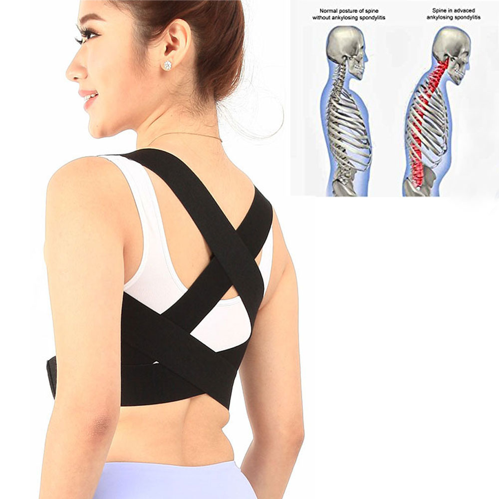 Portable Posture Corrector Support Brace For Thoracic Kyphosis Clavicle Shoulder Brace Back Pain Relief Lumbar Support 5 Size