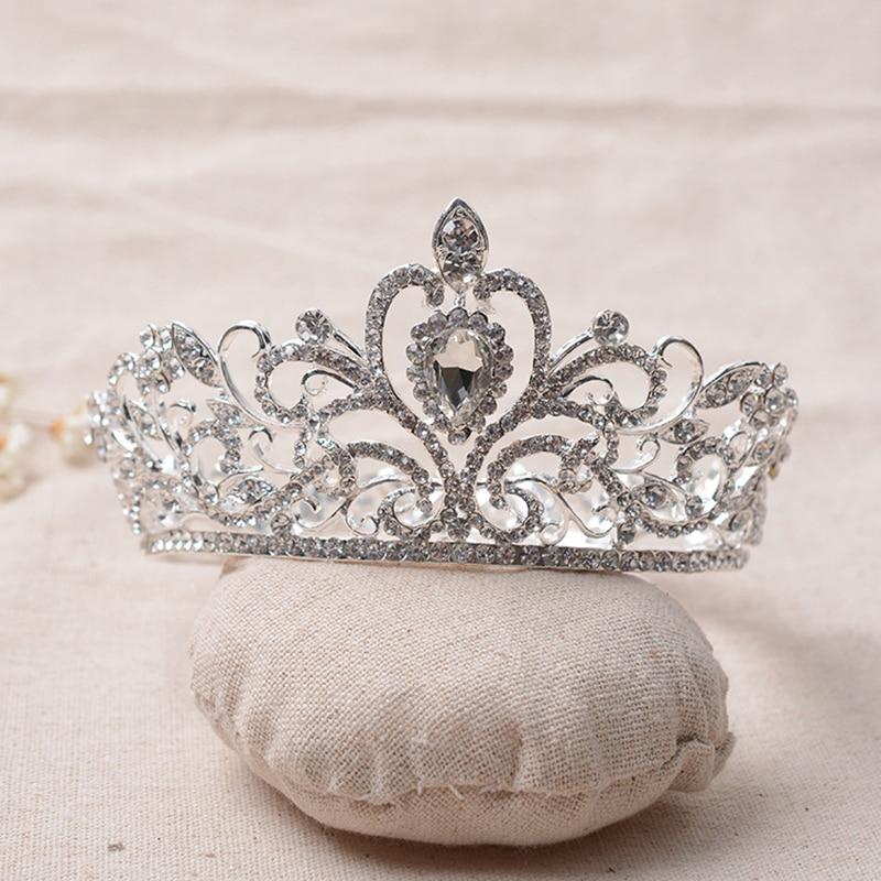 baroque full crown tiara