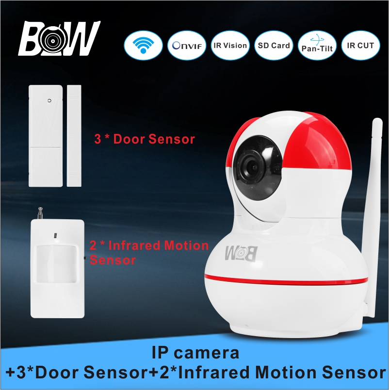 Security IP font b Camera b font Infrared Surveillance font b Camera b font WiFi 3