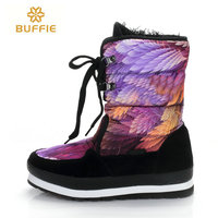 Shoes Women Waterproof Snow Boots Women Winter Boots Hot Selling Brand Style Boots Warm Winter Boots