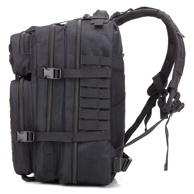 2018 34L Tactical Assault Pack Backpack Army Molle Waterproof Bug Out Bag Small Rucksack for Outdoor Hiking Camping Hunting(bl 2018 hot a military tactical assault pack backpack army molle waterproof bag small rucksack for outdoor hiking camping hunting