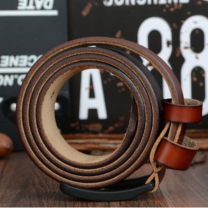 Image 5 - Cinto e carteira conjunto COWATHER para homens top quality bolsa vaca genuína cinta masculina terno dos homens da moda cinto e carteira definir frete grátis