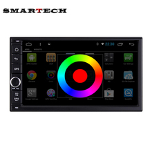2din Universal Quad Core 1024*600 Android 6.0 For Car PC Tablet For Nissan Kia Honda GPS Navigation BT Radio Stereo Audio Player