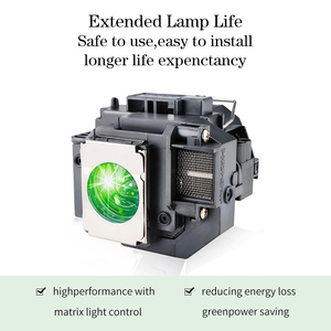 Image 2 - Happybate ELPLP58/ V13H010L58 Projector Lamp for PowerLite X9 PowerLite S9 S10+ PowerLite 1260  H391A H376B H375A H375B H374B