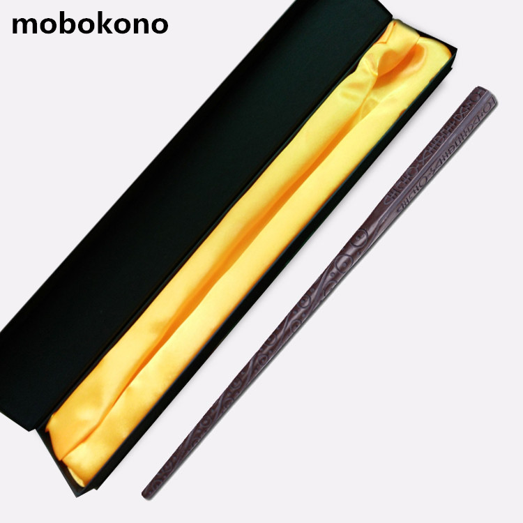 mobokono Top Quality Sirius Black Magic Wand/ Harry Potter Magical Wand/ High Quality Gift Box Packing high quality best price harry potter magic wand kids cosplay stage magic tricks sticks children toys harry potter magical wand