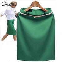 7 Colors S XXXL Plus Size 2013 New Summer High Waisted Women S Skirt OL Ladies