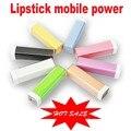2600 mah bateria externa power bank para iphone samsung htc lg carregador de bateria de backup universal mobile display led