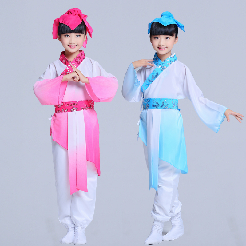 Children's costumes, Hanfu , national costumes, children's stage performance clothing, primary and secondary school uniforms
