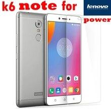 k6 note power Premium tempered glass Film FOR lenov
