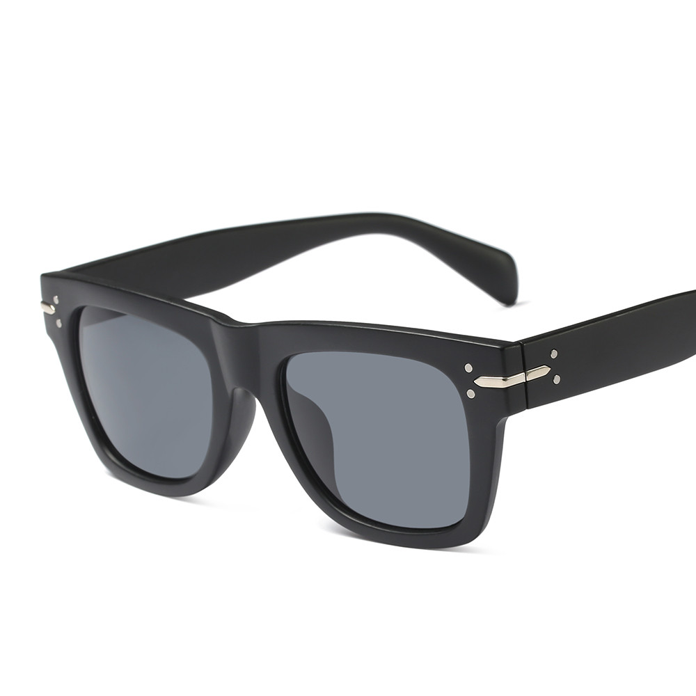 2018 Лидер продаж Мода Площадь смола улица выстрел Ретро Для мужчин wo Для мужчин UV400 Солнцезащитные очки для женщин Винтаж бренд звезды дизайн...