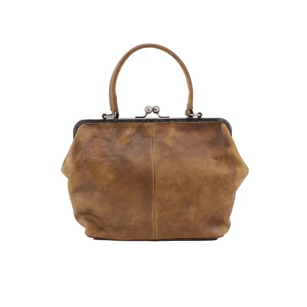 Vintage Designer Genuine Soft Tanned Leather Women Small