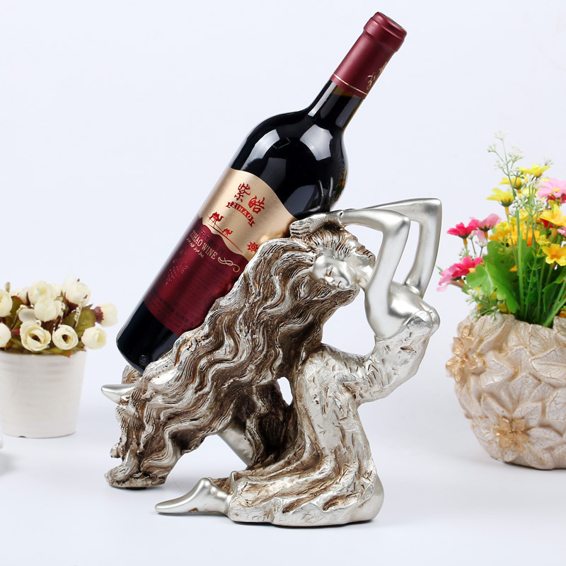 Refinement Continental Beauty Wine Rack Personality Furnishings HOME Decoration Send Creative Resin Artware Gift Collection L942 зимняя шина continental contivikingcontact 6 225 55 r17 101t