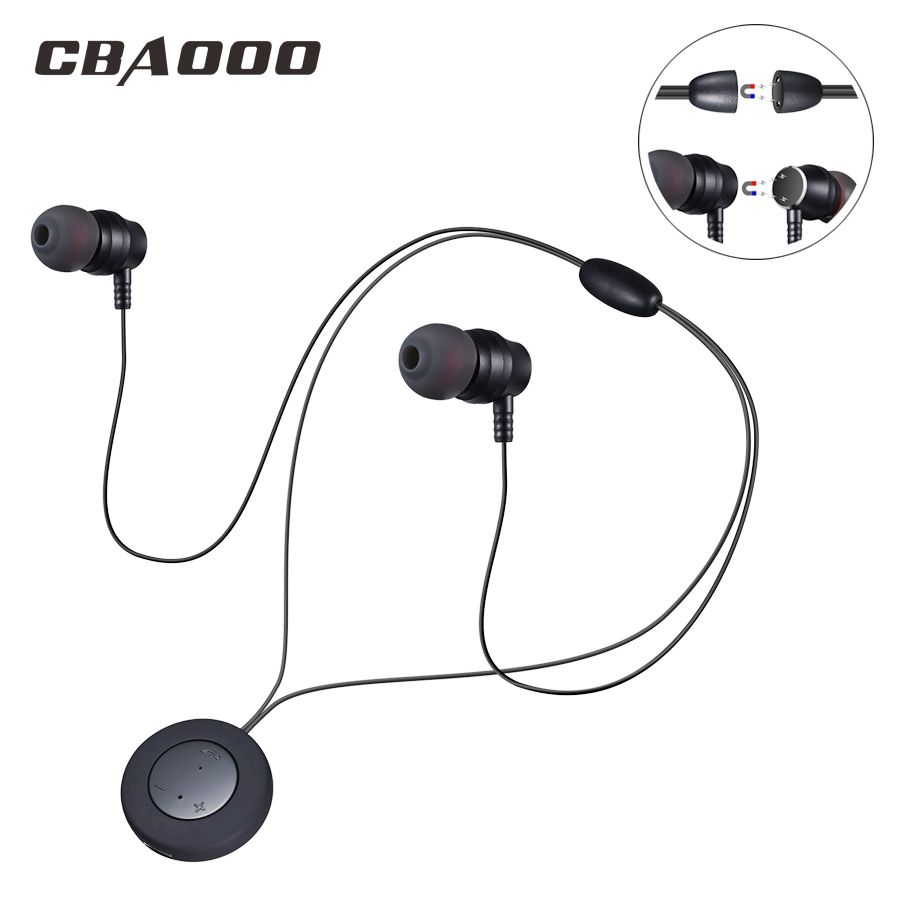 CBAOOO X8 Wireless Bluetooth Earphone Sport Headphone Bluetooth Headset Neckband Magnetic HiFi Stereo with Mic for xiaomi iphone original remax neckband sport earphone s8 wireless bluetooth headset bluetooth 4 0 magnet earphone for iphone x 8 samsung xiaomi