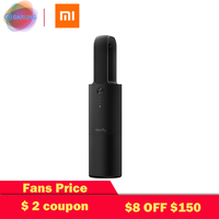 Xiaomi Cleanfly coclean car dust cleaner portable sweep mini hepa light wireless Hand Helded Vaccum for car