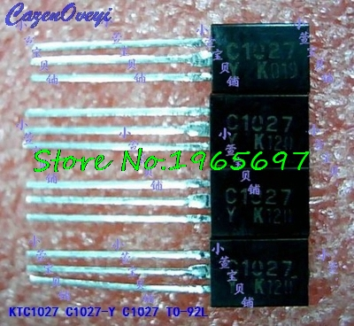 10pcs/lot KTC1027 C1027-Y C1027 TO-92L New Original In Stock