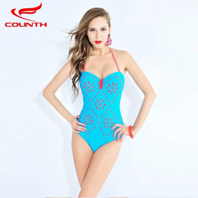 9ca71e8d23 One Piece Swimsuit Women Bathing Suits Vintage Summer Beachwear Plus Size  Swimwear Swim Halter Top Suit Stripe Maillot De Bain