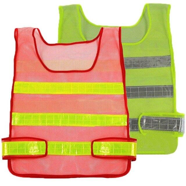 7ea6104bdfbf Chaleco de seguridad reflectante de alta visibilidad chaleco reflectante  Multi bolsillos ropa de seguridad chaleco tráfico