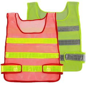 Mo owl High Visibility Reflective Vest Workwear Safety