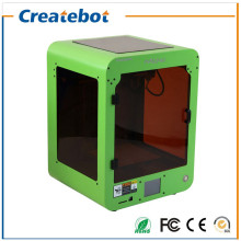 Apple Green MINI Createbot FDM Desktop 3D Printer kit Touchscreen, Dual Extruder and Heatbed Hot Sale 3D Printer