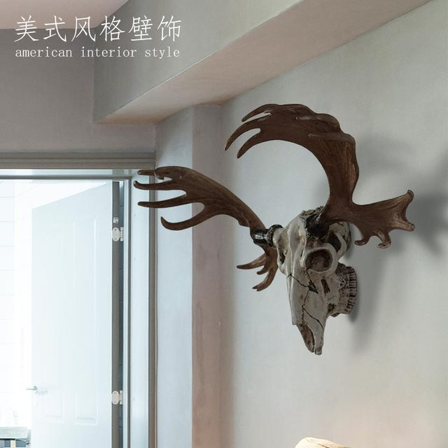 Reindeer Skull Home Decor Resin Cabochon Home Decoration Accessories