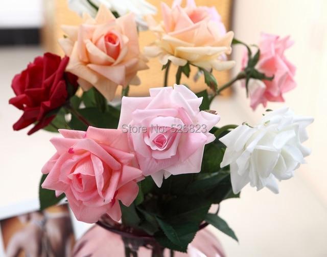 Gading Nyata Sentuhan bunga Mawar buatan ad206c8437