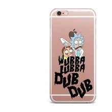 Rick and Morty Soft silicon iPhone Case/Cover