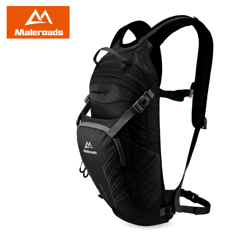Streamlined Design Maleroads Professional cycling backpack running bags bicycle bag double-shoulder backpack Hydration Pack 10L 10l professional hydration bag bicycle backpack for men road packsack rucksack vest bag hydration pack women s shoulder bags 508