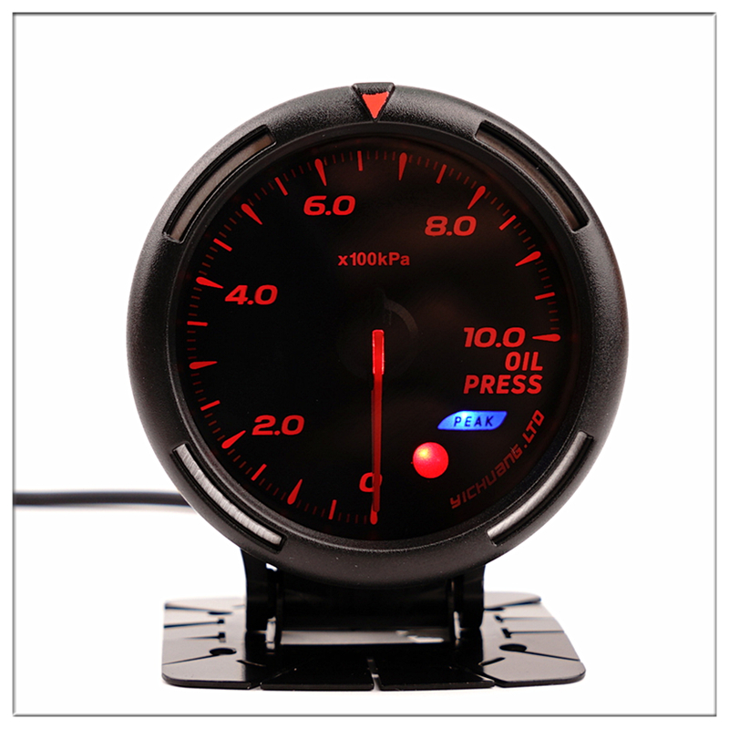 DEFI Oil Pressure Sensor For audi tt 8n a3 8v Universal 0 10Bar 60mm Car Round pointer Boost Gauge with colorful light 12V-in Fuel Gauges from Automobiles & Motorcycles    1