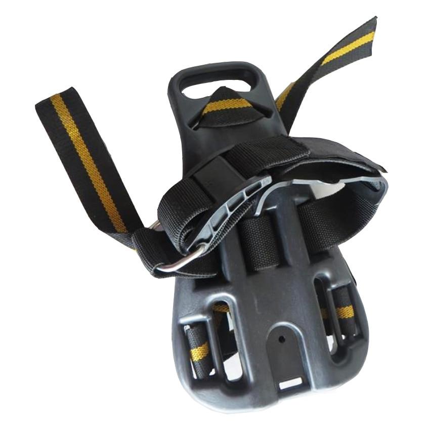 US $42 0 |Dive tank plate cylinder holder Tank Harness Backpack Back Plate  Pack SCUBA Straps tank holder black color tank belt-in Snorkels from Sports