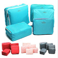 Travel Accessories Travel Package Receive Bag Clothes Luggage Waterproof Korea 5in1 Free shipping BO7035