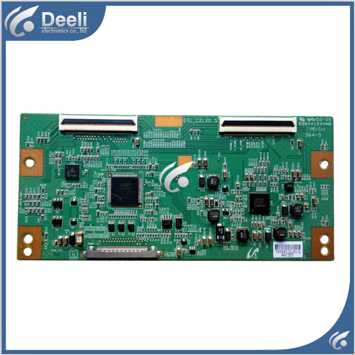 Working good original for Logic board KDL-46EX520 ESL_C2LV0.5 LTY460HN02 T-CON board used board for logic board lj41 08387a lj92 01705 working good