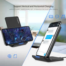FLOVEME Qi Fast Wireless Charger For iPhone XS Max XR X 10W USB Wireless Charging Charger For iPhone X 8 Plus For Samsung Note 9