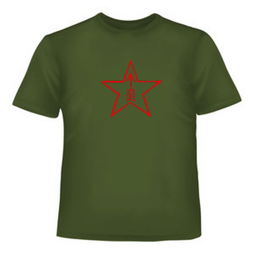 100% хлопок короткий рукав Мосина SKS Футболка зеленый 7,62 X 54R 7,62x39 Тульская Арсенал знаки T рубашка