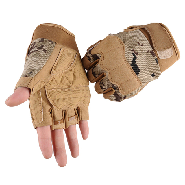 Men's Camouflage Weight Lifting Gloves (6 Colors)